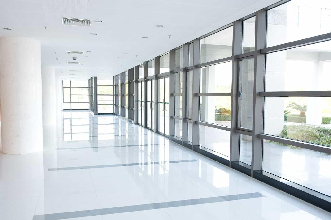 Office hallway remodel
