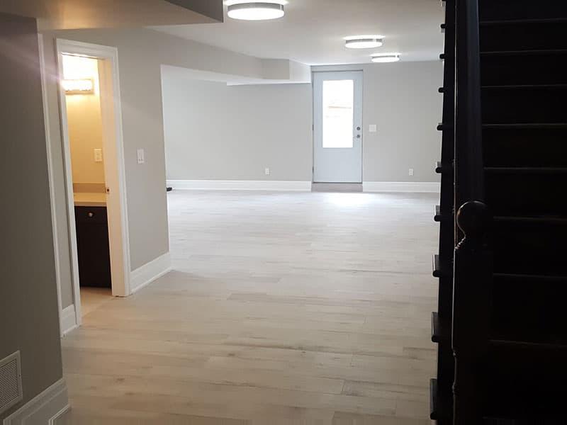 Full basement construction