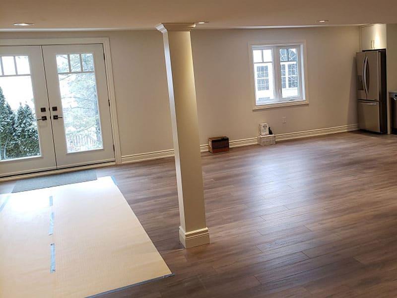 Repurposing basement for rentals