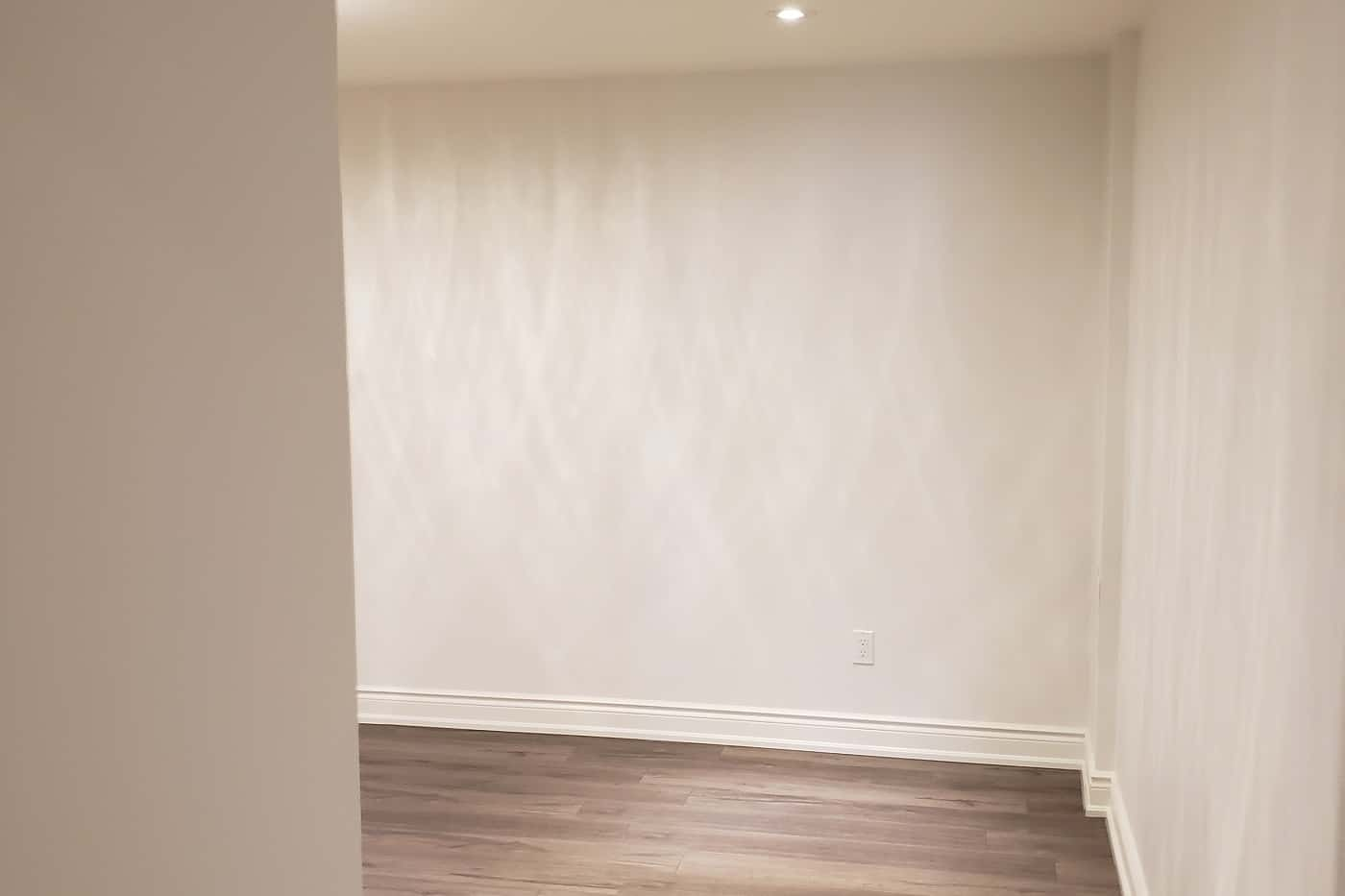 Full basement renovation and transformation Toronto
