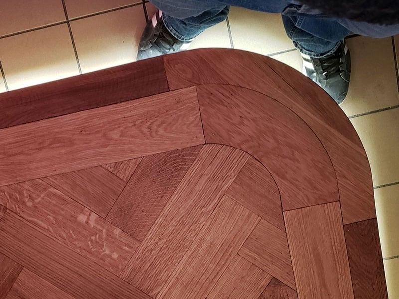 Restaurant floor remodel