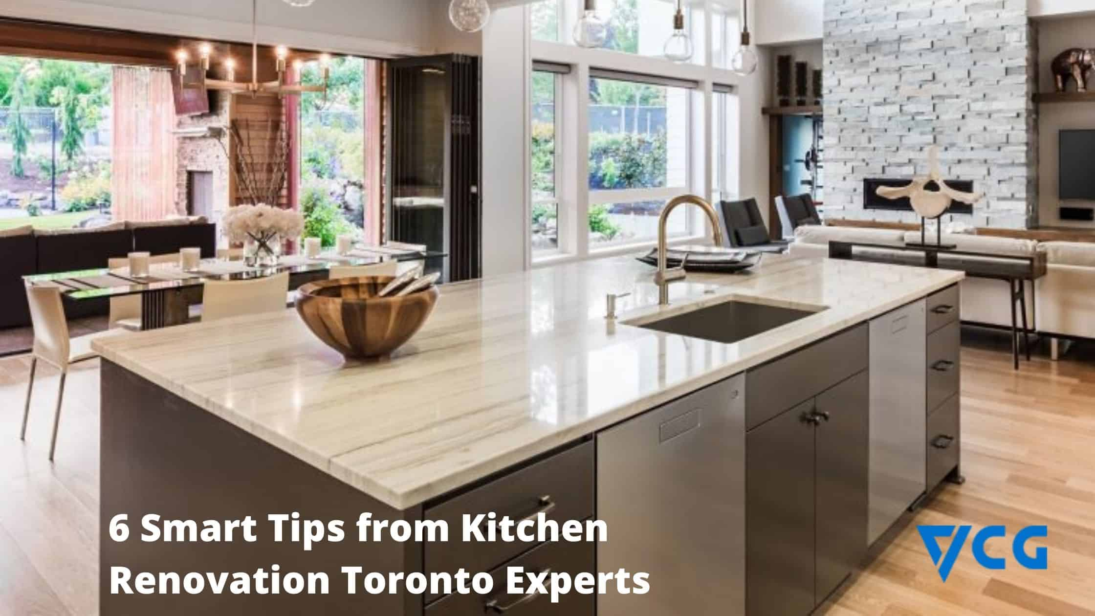 6 smart tips from kitchen renovation toronto experts